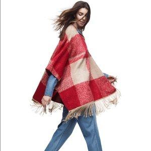 Adam Lippes For Target Short Sleeve Blanket Poncho